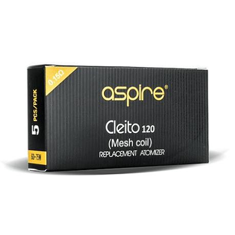 Aspire Cleito 120 Pro coils box