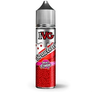 IVG Strawberry 60ml e-liquid vape bottle