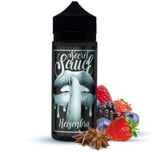 Heisenbro 120ml Heisenberg e-liquid bottle by Secret Sauce