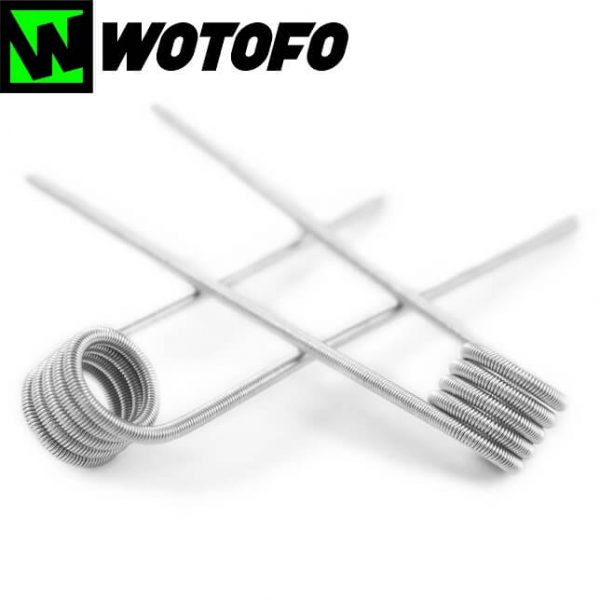 Wotofo Prebuilt Fused Clapton Coils