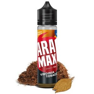 Aramax Virginia Tobacco Vape Juice 60ml Shortfill