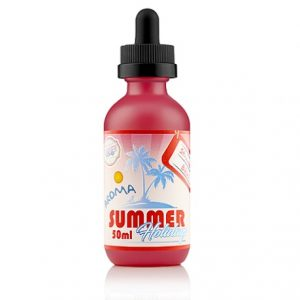 50ml shortfill e-juice Strawberry Bikini by Dinner Lady