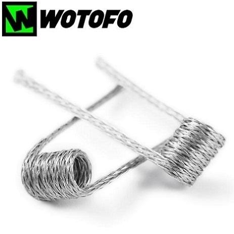 Wotofo Braided prebuilt DIY coils detail