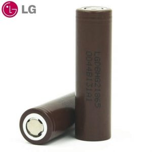 Lg HG2 18650 batteries with logo
