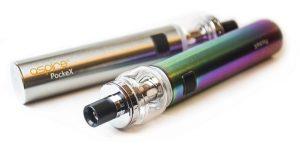 PockeX e-cigarette with bubble glass