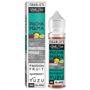 Pacha Mama Passion Fruit Raspberry Yuzu - 60ml e-liquid bottle