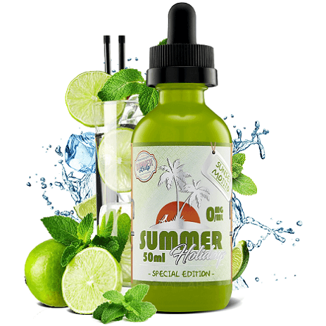 Dinner Lady Sunset Mojito e-liquid bottle