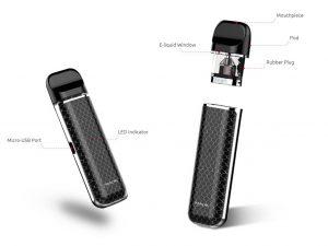 Smok Novo design and details
