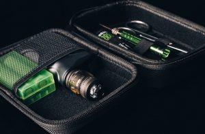 Wotofo Vape Carry Case with e-cigarettes inside