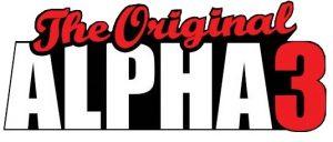Alpha3 E-juice opener Logo