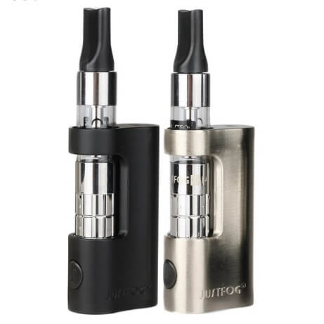 JustFog C14 Compact in Black and Silver Colour