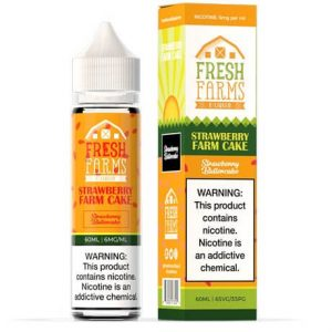 Strawberry Farm Cake 50ml e-liquid by Fresh Farms
