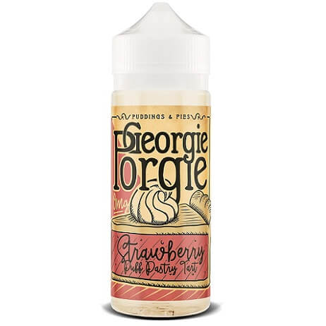 Georgie Porgie Strawberry Puff Tart E-juice Bottle