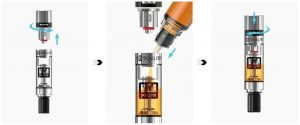 Refilling Guide Clearomizer Tank JustFog C14