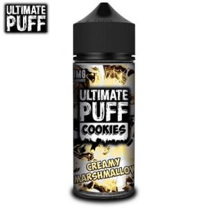 Ultimate Puff Dessert Vape Juice Bottle Cookies Marshmallow