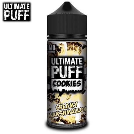 Ultimate Puff Dessert Vape Juice Bottle Cookies Marshmallow