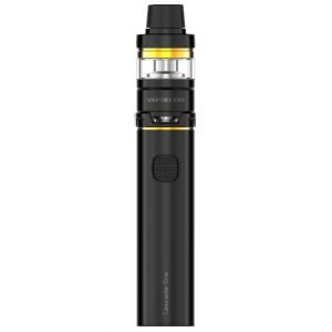 Vaporesso Cascade One e-cigarette Kit with sub-ohm tank in black and gold