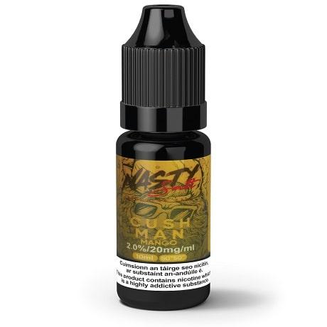 Cush Man 10ml nicotine salt e-liquid by Nasty Juice