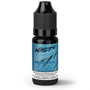 Menthol Icy Mint 10ml nicotine salt e-liquid bottle by Nasty Juice