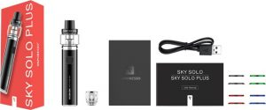 Packaing of E-cigarette kit Vaporesso Sky solo Plus