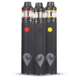 Innokin Riptide with Crios sub-ohm tank in red, black and yellow colour