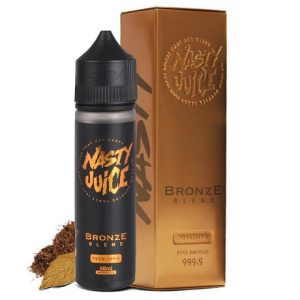 Bronze Tobacco Blend 50ml Vape Juice bottle by Nasty Juice