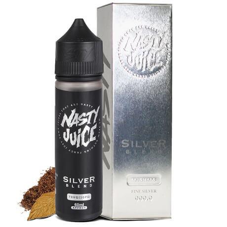 Silver Blend of 50ml Vape Juice Bottle by Nasty Juice