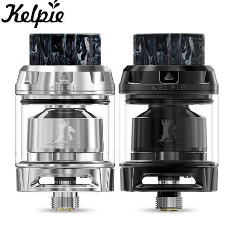 Kelpie RTA by Ehpro in black and silver colour with logo
