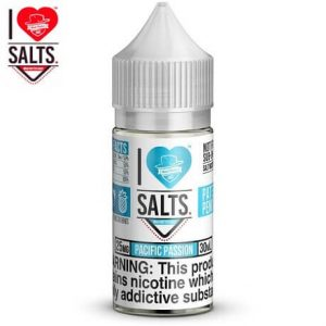Pacific Passion 10ml nicotine salt e-liquid by I love salt