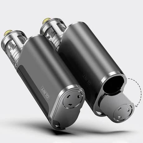Aspire Glint Vape Mod 18650 battery door