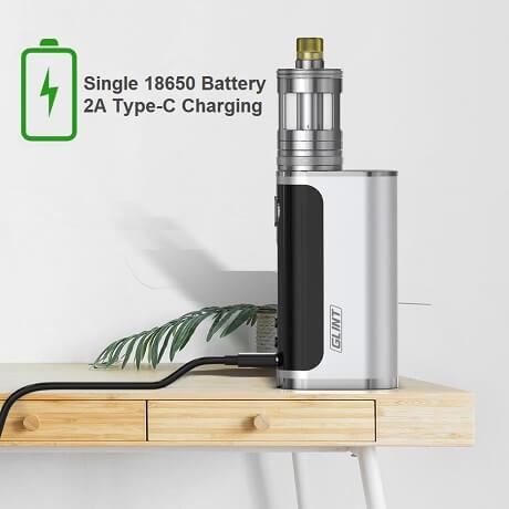 Aspire Glint 18650 Superfast charging USB-C