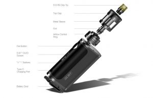 Detailed overview of e-cigarette Aspire Nautilus GT