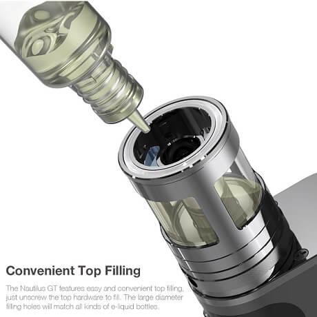 Top refill system Aspire MTL vape tank