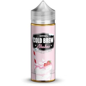 Strawberri & Cream 120ml e-liquid bottle by Nitro's Cold Brew