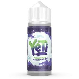 Honeydew Blackcurrant 120ml e-liquid flavour by Yeti with fruits and ice