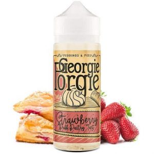 Georgie Porgie Strawberry Puff Pastry Tart 120ml e-liquid bottle