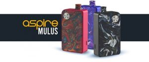 Aspire Mulus Pod Kit cover picture for VapeApe Ireland