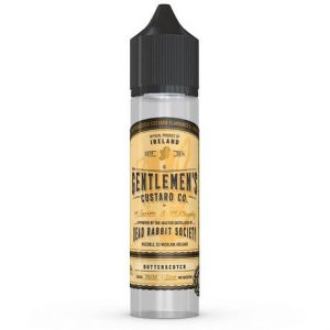 Butterscotch Gentlemen's Custard 60ml e-liquid bottle by DRS