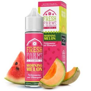 Fresh Farms E-liquids Morning Melon with watermelon and honeydew