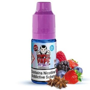 Heisenberg Nicotine Salt e-liquid by Vampire Vape in 10ml bottle with fruits
