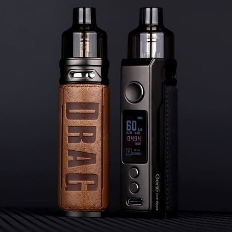 VooPoo Drag X Pod MOD in Retro and classic colour