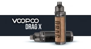 VooPoo Drag X 18650 pod mod mobile cover