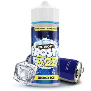 Energy Ice by Dr.Frost Frosty Fizz 120ml vape juice bottle with can and ice cube
