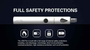Innokin Jem Vapour Pen safety protections