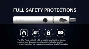 Innokin Jem Vapour Pen safety protections