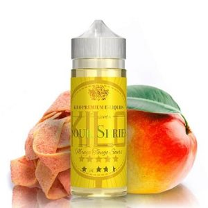 Mango Tango Sours 120ml Vape Juice Bottle by Kilo e-liquid with candy