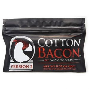 Cotton Bacon Version 2 in a black pack