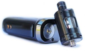 Innokin Kroma-R 80W Mod kit with Zlide tank in black colour on the table