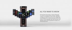Innokin Kroma-R mod display in details