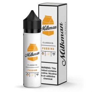 Milkman Pudding 60ml vape juice bottle